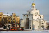 Golden Gate. City of Vladimir, Russia — Stock Photo