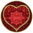 Heart of Valentine`s day - Stock Photo