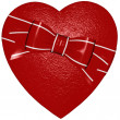 Valentine day heart — Stock Photo
