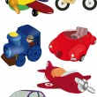 Set of children's toys - Stock Vector