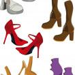Female footwear — Stock Vector