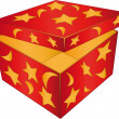Red box — Vector de stock #1375557