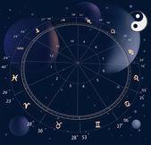El zodiaco — Vector de stock