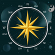 Compass a wind rose — Stock Vector #1407314