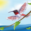 Vector de stock : Bird