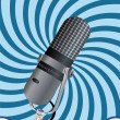 Royalty-Free Stock Vector Image: Microphone
