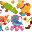 Royalty-Free Stock Vector Image: Children\'s toys