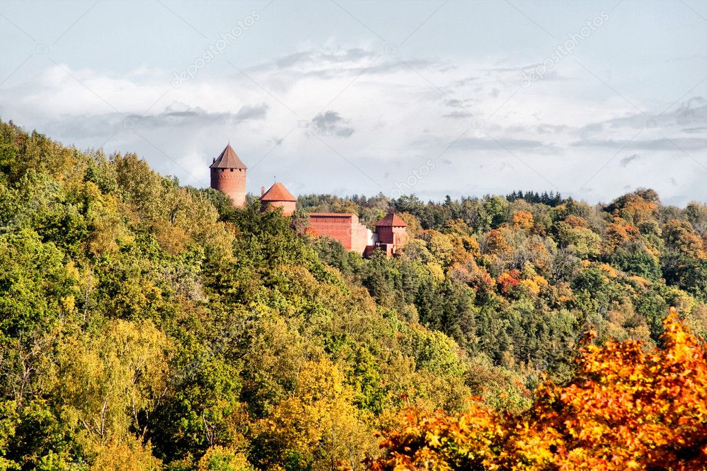 Turaida castle at Sigulda Latvia — Stock Photo #1066764