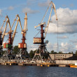 Crane at Ventspils — Stock Photo #1071756