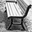 Winter bench — Stock Photo #1074011