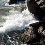 Stones on beach — Stock Photo #1075989