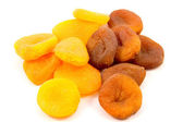 Apricots dried — Stock Photo
