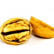 Stock Photo: Walnuts in shell