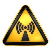 Attention radiation — Stock Photo
