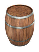 Wine barrel — Stock Photo