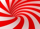 Red and white lines — Stock Photo