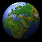 planeta Země, europa — Stock fotografie