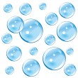 Blue Bubbles — Stock Vector #1115267