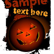 Royalty-Free Stock Vektorfiler: Halloween background, vector illustratio