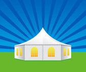 Tent — Stock Vector