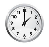 Office clock. Vector — Stock Vector