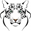 Royalty-Free Stock Imagen vectorial: Tiger head