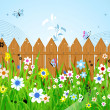 Royalty-Free Stock Vector Image: Summer day