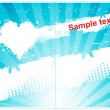 Royalty-Free Stock Imagen vectorial: Gift card design.Place your text here.