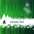 Christmas background with place for your - Stock Vector