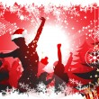 Royalty-Free Stock Векторное изображение: Christmas party
