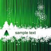 Christmas background with place for your — Stock Vector