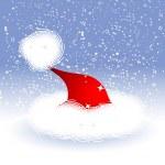Christmas hat — Stock Vector