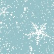 Winter blizzard, seamless background - Stock Vector