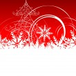 Christmas background — Stock Vector #1356567