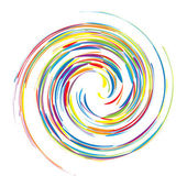 Abstract swirl background — Stock Vector