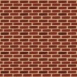 Brick wall seamless background — Stock Vector