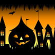 Halloween party background — Vettoriali Stock