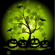 Royalty-Free Stock Immagine Vettoriale: Halloween pumpkins illustration