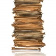 Heap of papers — Stock Photo