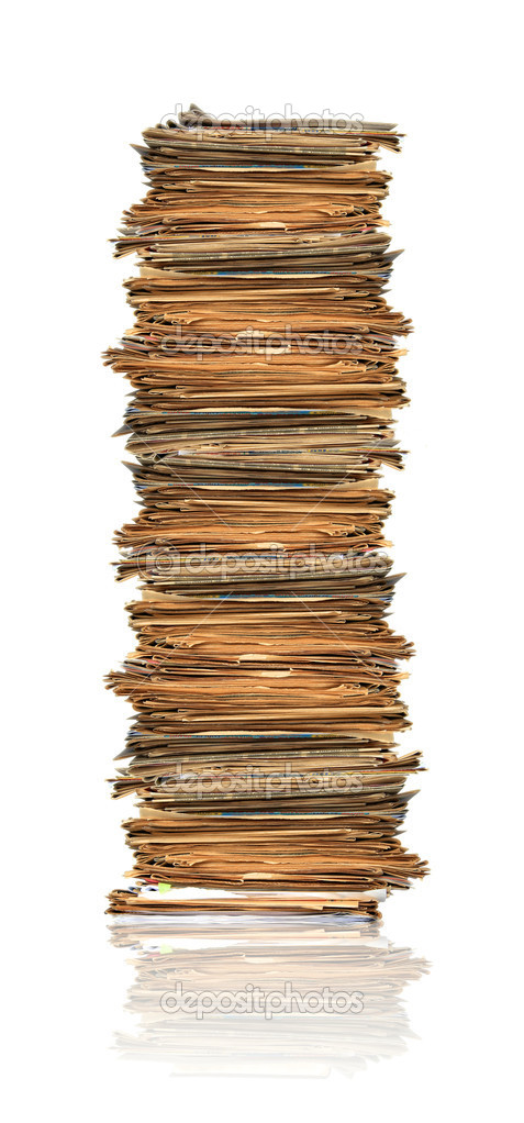 Heap of papers — Stock Photo #2332643