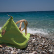 Beach bag, summer holiday dreams - Foto de Stock