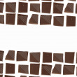 Chocolate pieces background - Photo