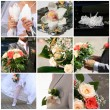 Wedding collage — Lizenzfreies Foto