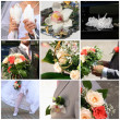 Wedding collage — Stock Photo #2582478