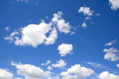 Clouds on blue sky — Stock Photo