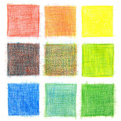 Color mix background, pencils — Zdjęcie stockowe