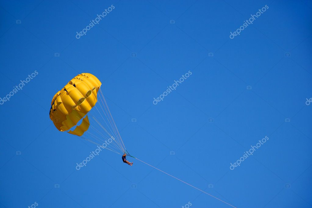 Parasailing — Stock Photo #2583435
