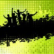 Funny party background - Imagen vectorial