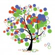Royalty-Free Stock Vector Image: Funny art tree for your design