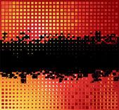 Abstrakte urlaub hintergrund — Stockvektor